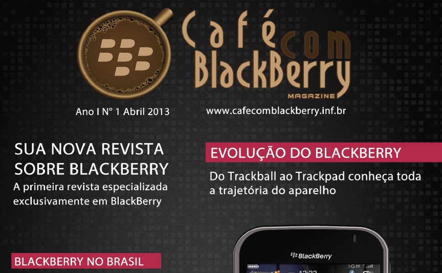 [Download] Revista Café com BlackBerry – 1ª Edição