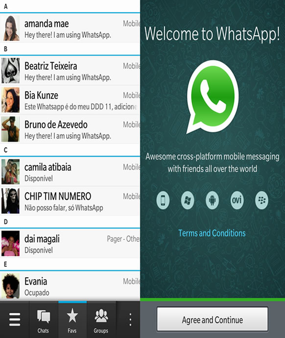 FreeApp] WhatsApp para BlackBerry 10
