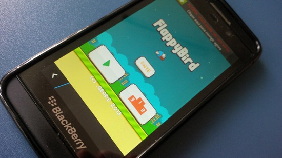 [FreeGame] FlappyBird para BlackBerry (android)