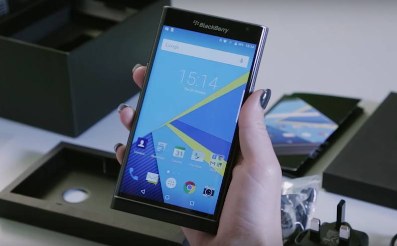 BlackBerry-Priv-Android-phone-Carphone-Warehouse-unboxing-3.57-PM